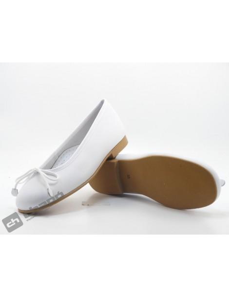 Zapatos Blanco D´bebe 4559