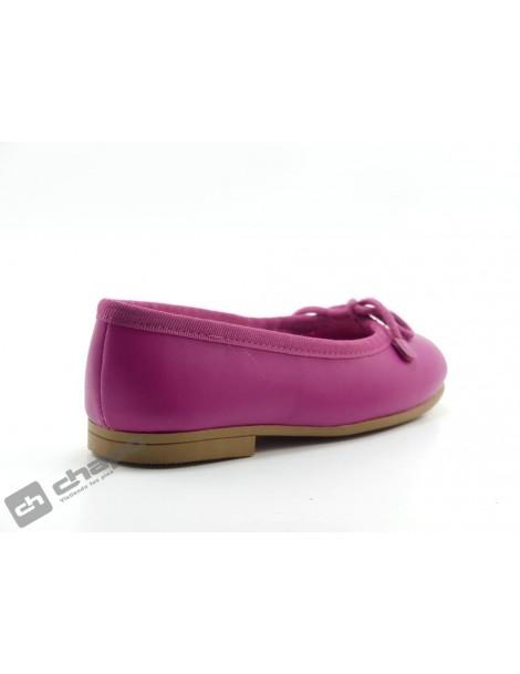 Zapatos Fuxia D´bebe 4559
