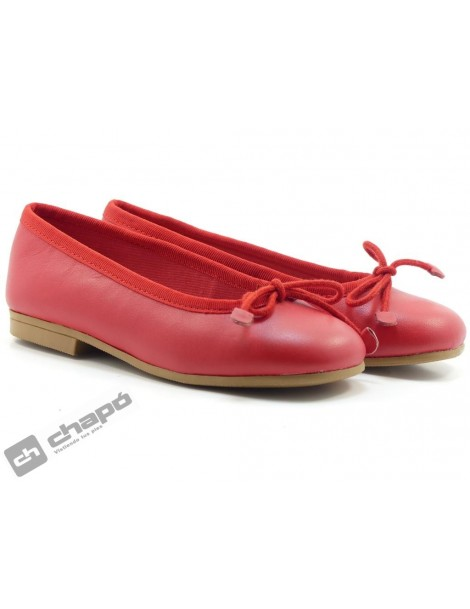 Zapatos Rojo D´bebe 4559