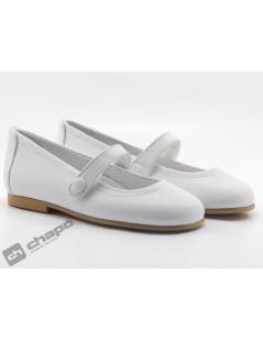 Zapatos Blanco D´bebe 4579