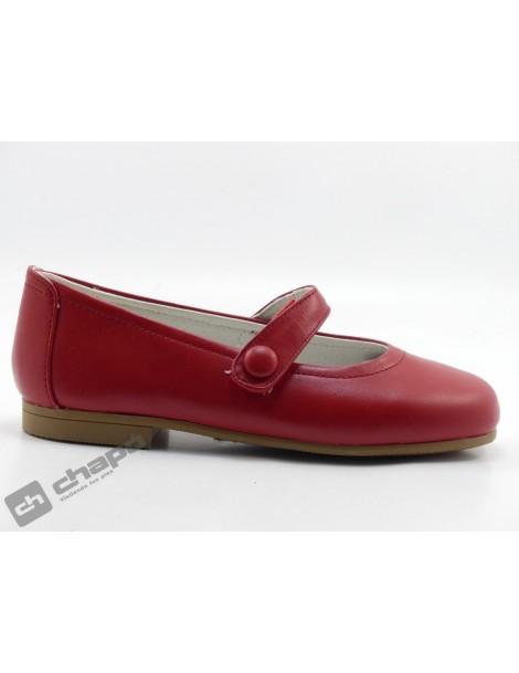 Zapatos Rojo D´bebe 4579