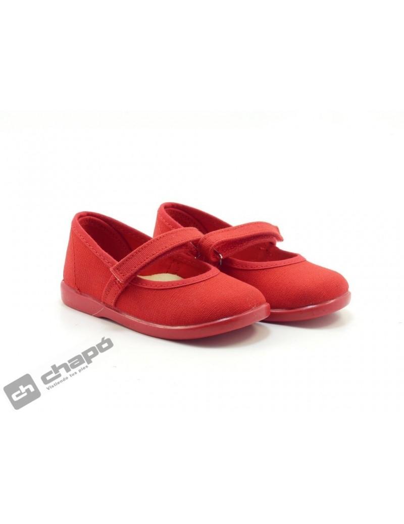 Zapatillas NiÑo-a Rojo Batilas 11301