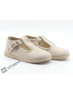Zapatos Beig Batilas 12601