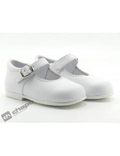 Zapatos Blanco D´bebe 40671