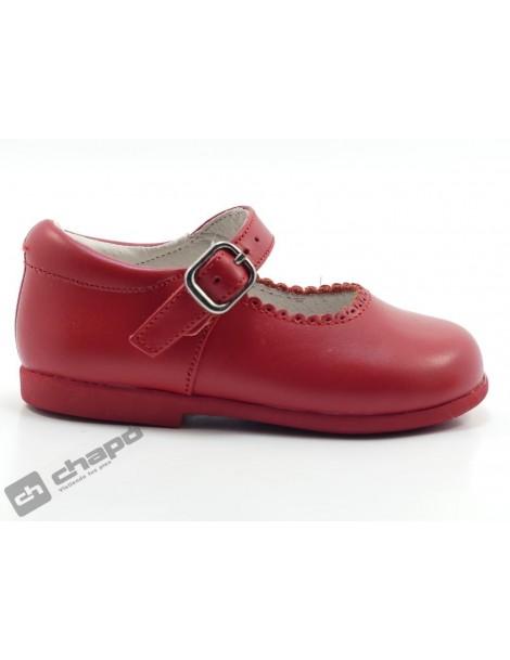 Zapatos Rojo D´bebe 40671
