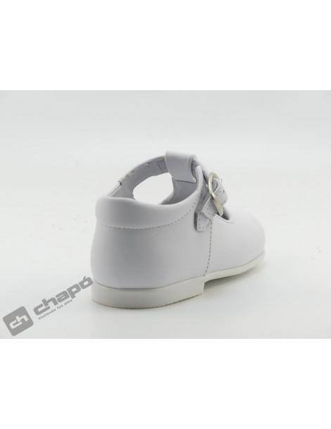 Zapatos Blanco D´bebe 43190