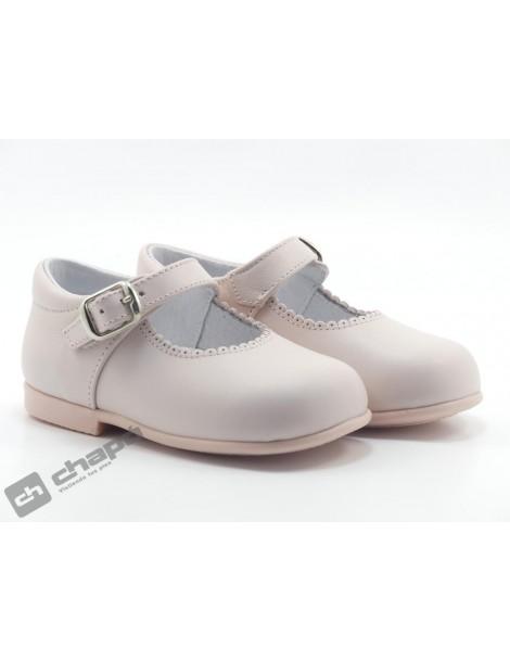 Zapatos Rosa D´bebe 40671
