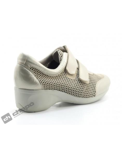 Sneakers Beig Cutillas 47251
