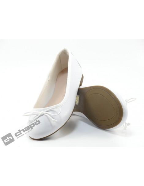 Bailarinas Blanco ChapÓ 4908n