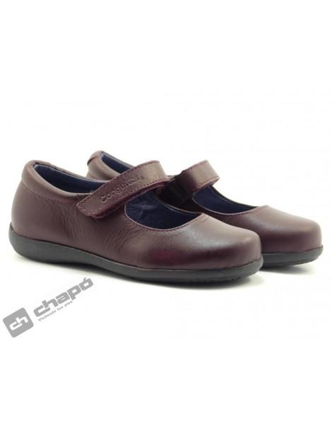 Zapatos Burdeo Conguitos 23600