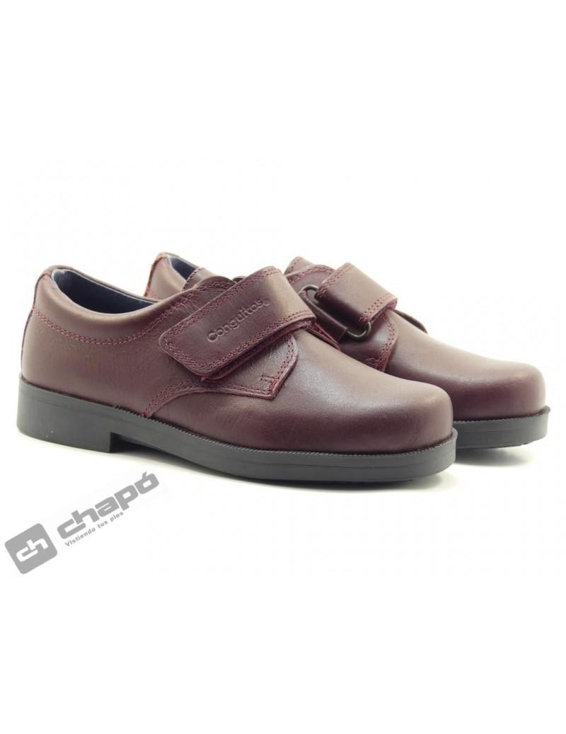 Zapatos Burdeo Conguitos 23602