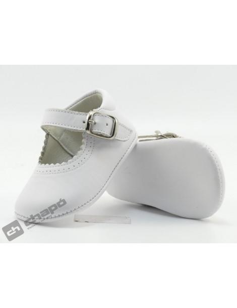 Zapatos Blanco D´bebe 2190