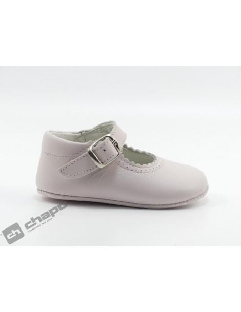Zapatos Rosa D´bebe 2190