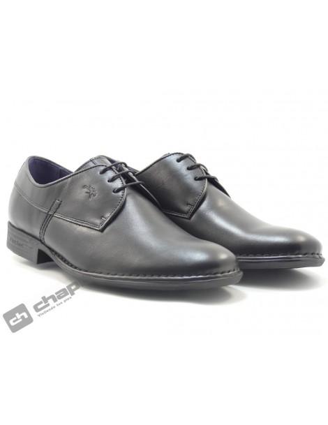 Zapatos Negro Fluchos 8596-st