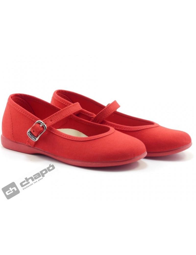 Zapatillas NiÑo-a Rojo Batilas 107