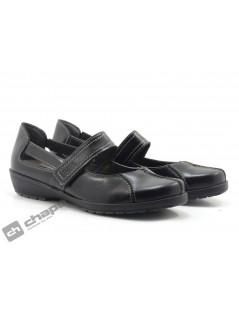Zapatos Negro Suave 3429