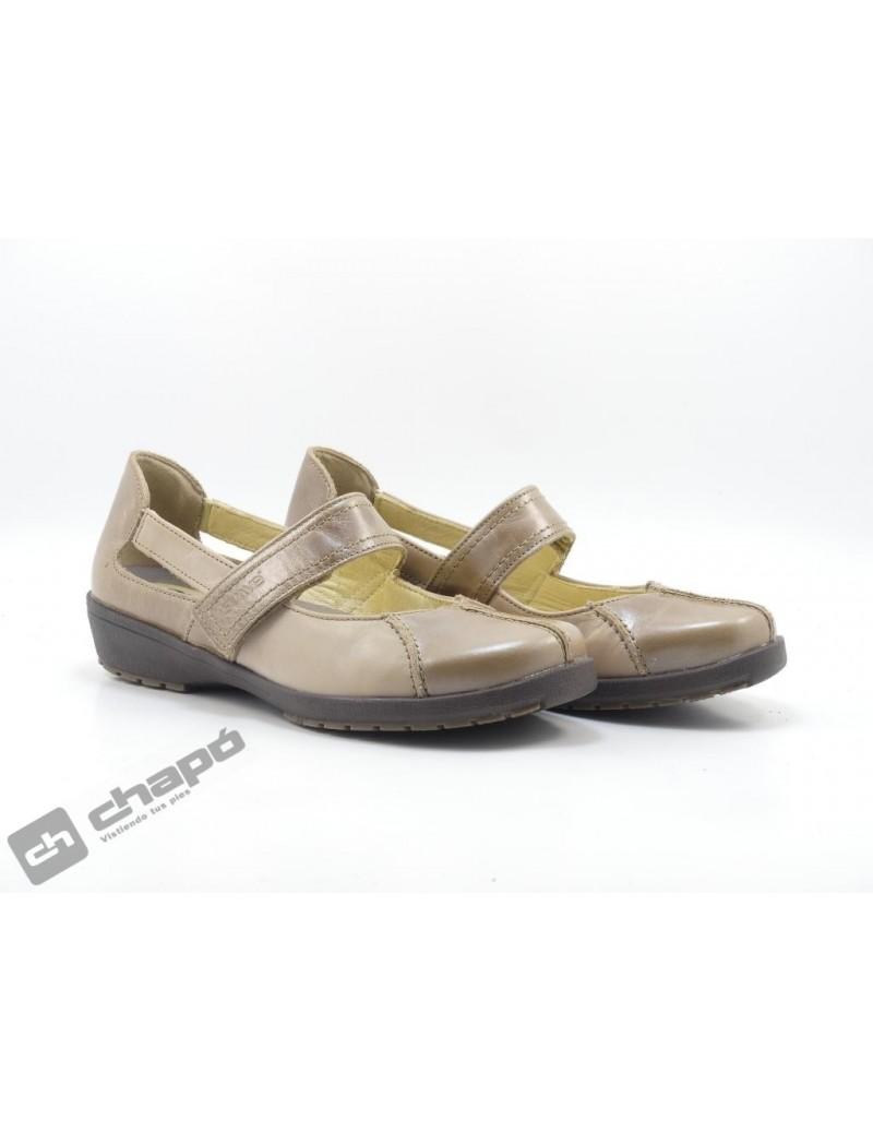 Zapatos Taupe Suave 3429