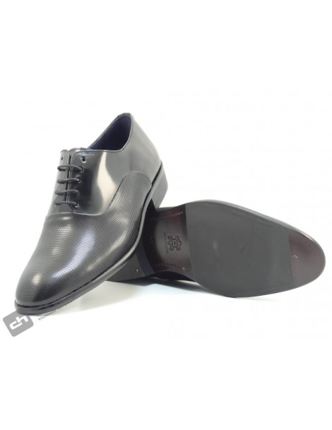 Zapatos Negro Enrique PÉrez 9845