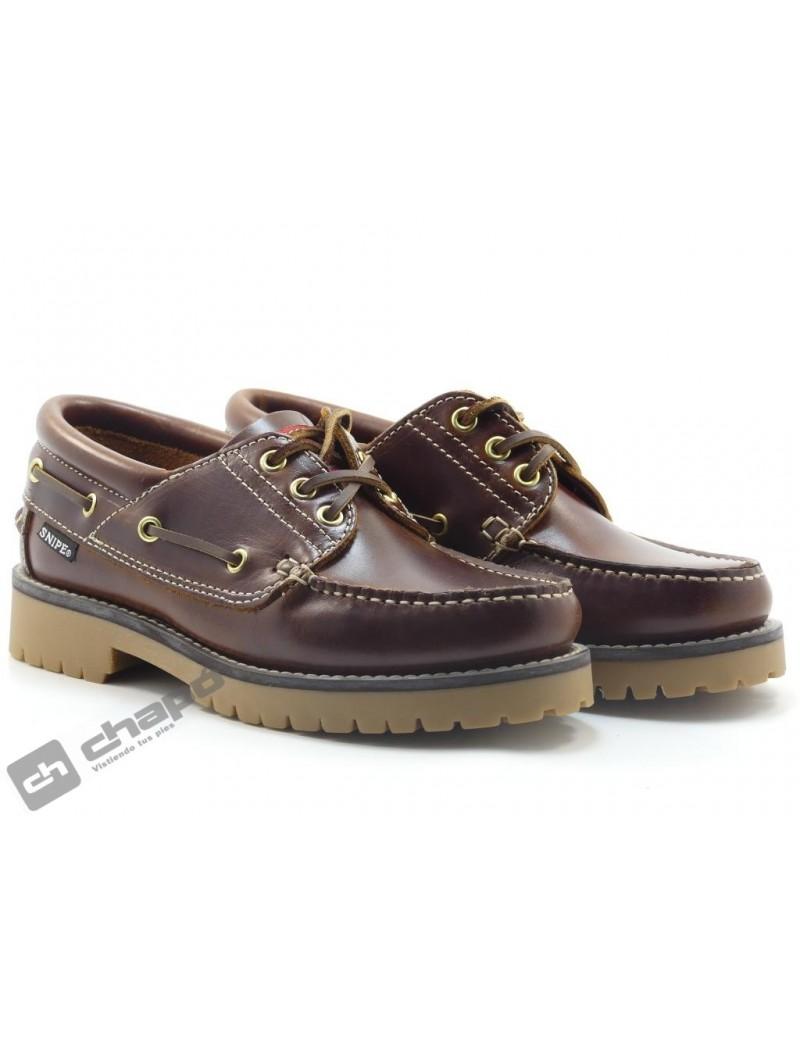 Zapatos Cuero Snipe 21801