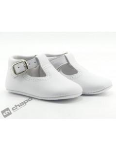 Zapatos Blanco D´bebe 2189