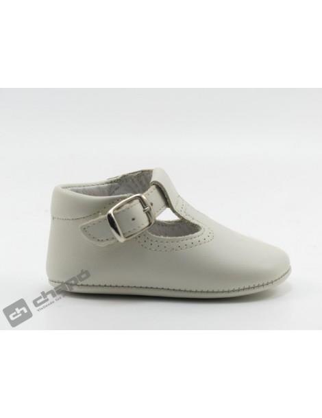 Zapatos Beig D´bebe 2189