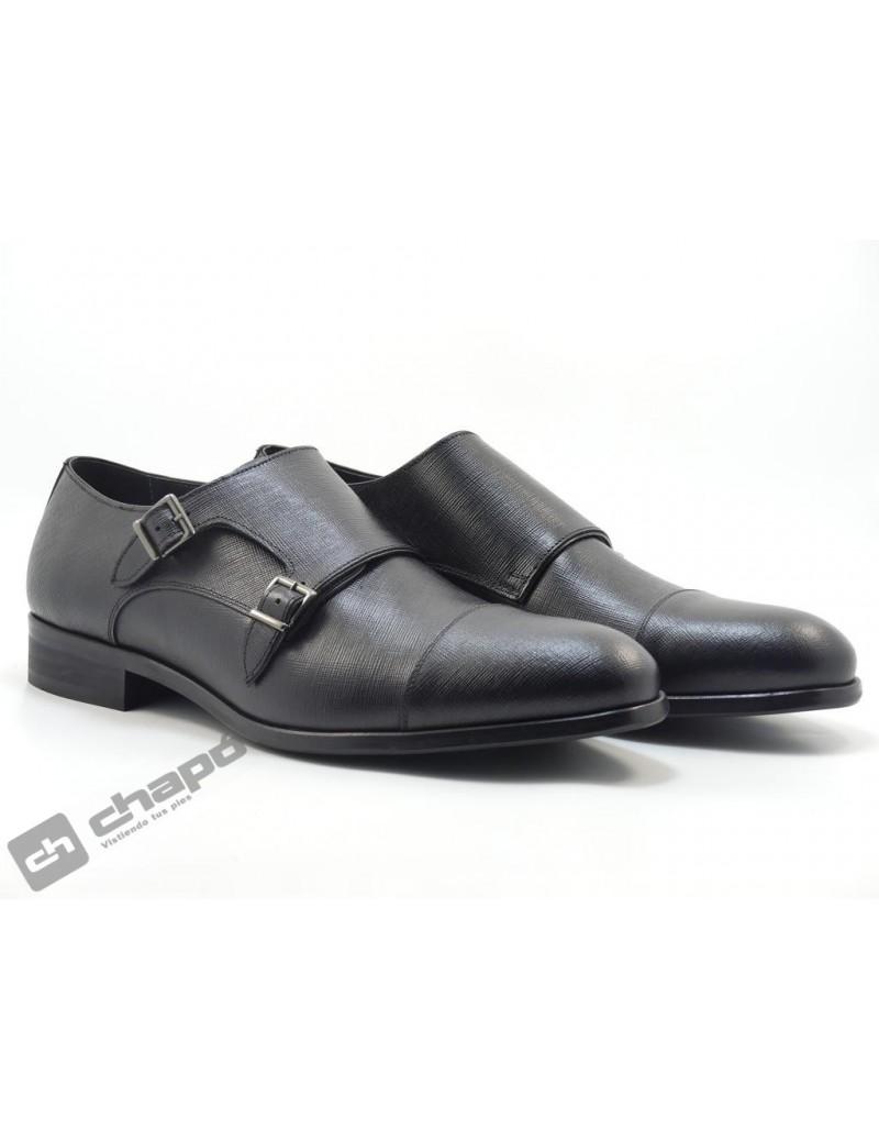 Zapatos Negro Angel Infantes 92038