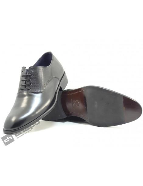 Zapatos Negro Enrique PÉrez 10045-placado 1