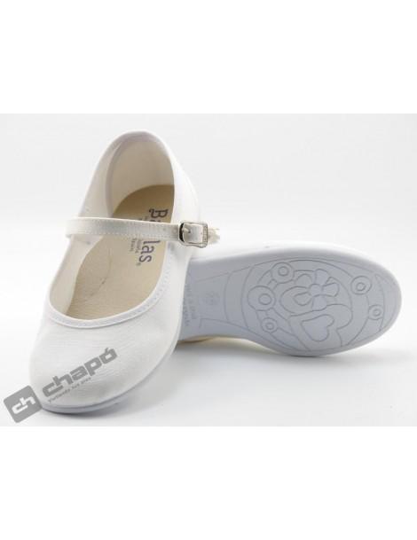 Zapatillas NiÑo-a Blanco Batilas 107