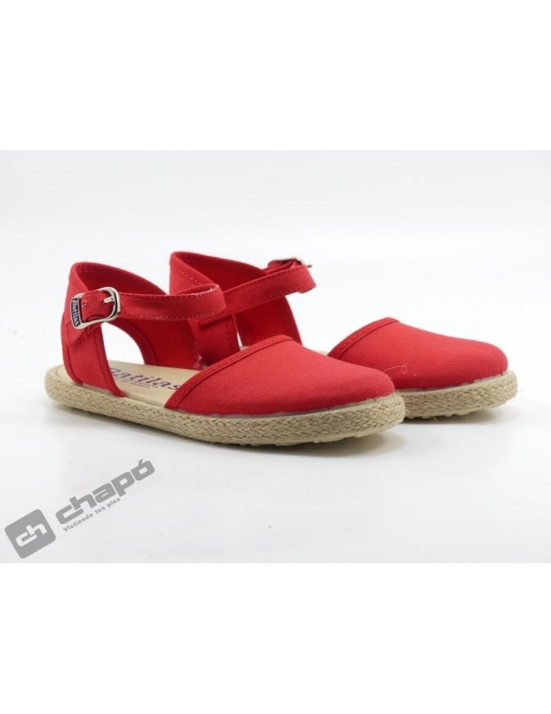 Zapatillas NiÑo-a Rojo Batilas 458