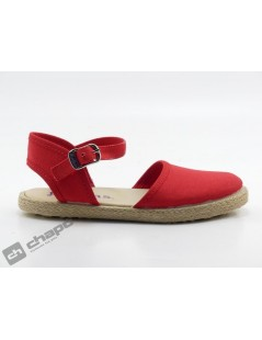 Sandalia Rojo Batilas 458