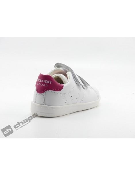 Zapatillas NiÑo-a Blanco/rosa Pablosky 272807