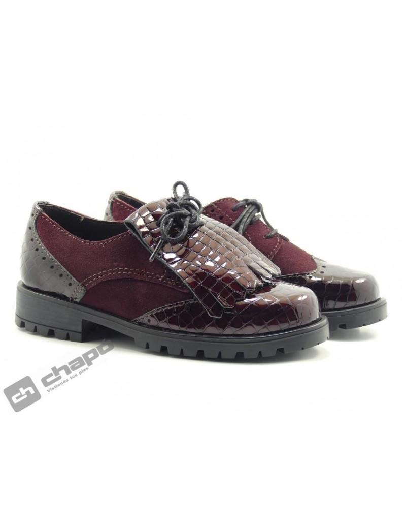 Zapatos Burdeo ChapÓ 10597