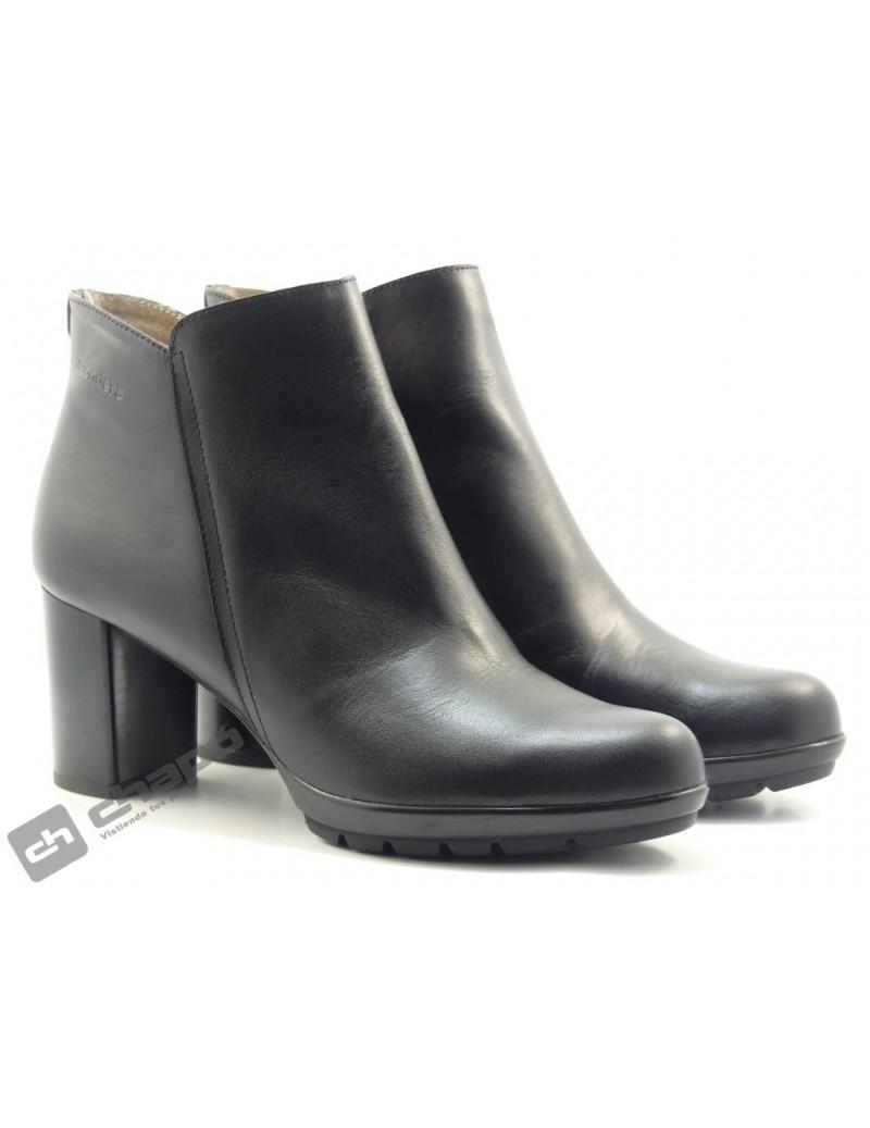 Botines Negro Zapatos Wonders I-6707