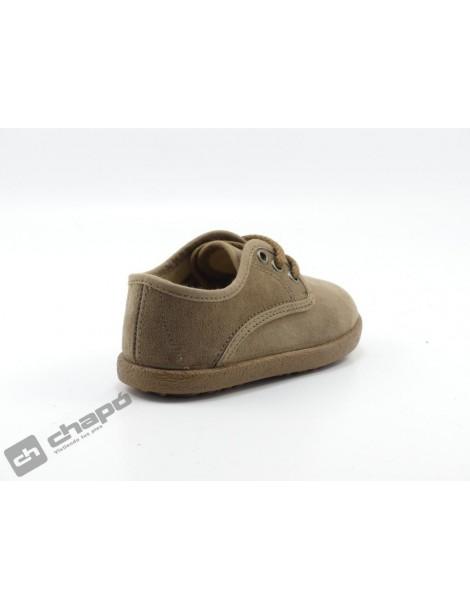 Zapatos Taupe Batilas 48350