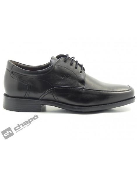 Zapatos Negro Fluchos 7995