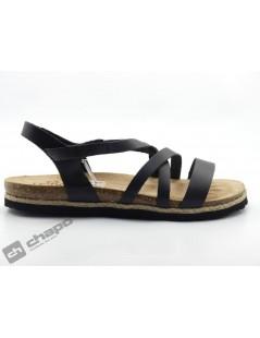 Sandalia Negro Yokono Chipre 100
