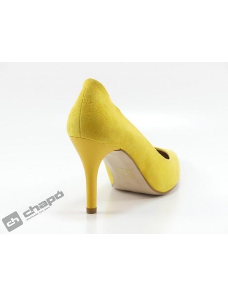 Zapatos Mostaza Giko 90201