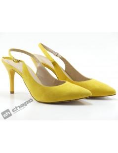 Zapatos Mostaza Giko 90202