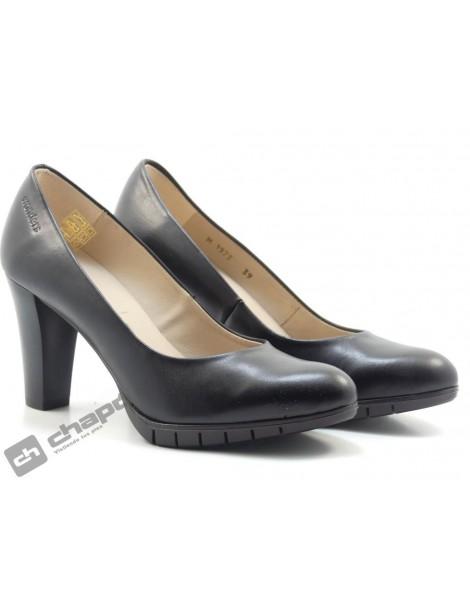 Zapatos Negro Zapatos Wonders M-1973