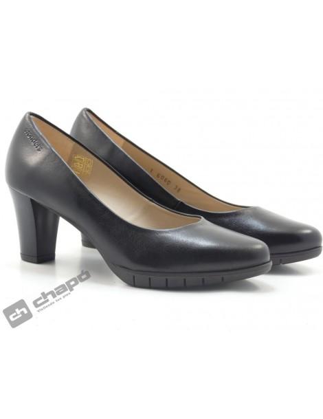 Zapatos Negro Zapatos Wonders I-6030-i6012