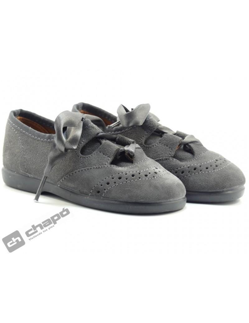 Zapatos Gris Chuches 2cdo 100/s