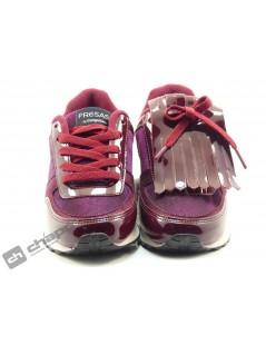 Zapatillas NiÑo-a Burdeo Fresas Con Nata 511 12