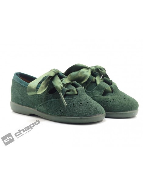 Zapatos Verde Chuches 2cdo 100/s
