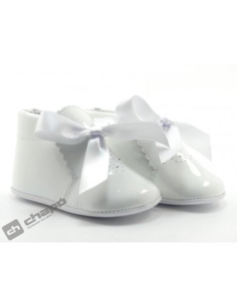 Botines Blanco D´bebe 2317