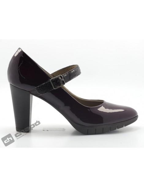 Zapatos Burdeo Zapatos Wonders M-1951