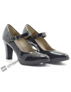Zapatos Negro Zapatos Wonders M-1951