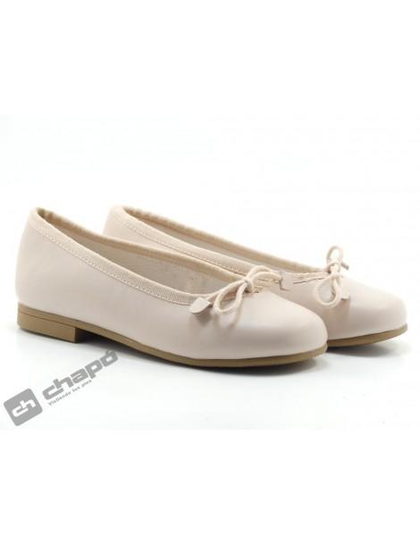 Zapatos Rosa D´bebe 4559