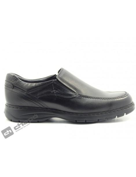 Zapatos Negro Fluchos 9144-crono
