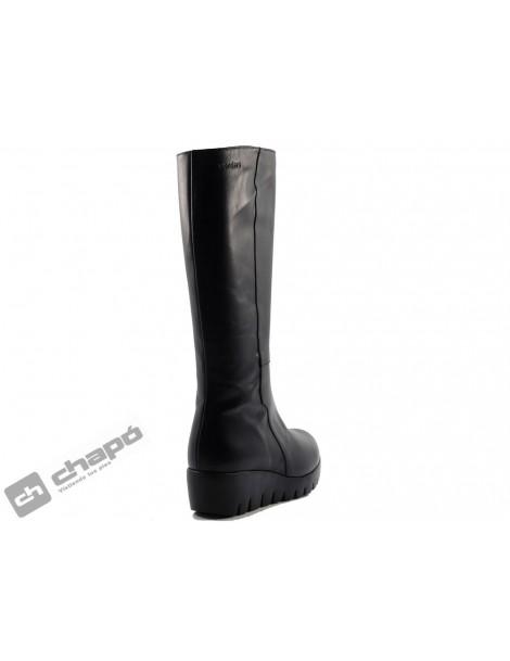 Botas Negro Zapatos Wonders C-3398