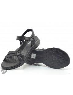 Chancla / Negro Skechers 15316